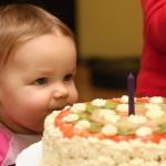 Eliska - 1 rok - dort